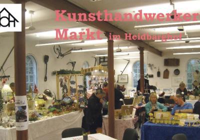 Kunsthandwerker-Markt im Heidbarghof