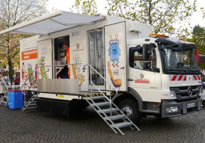 Mobile Problemstoffsammlung der Stadtreinigung Hamburg – Groß Flottbek
