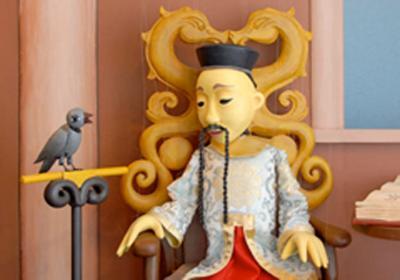 Marionettentheater – DER KAISER UND DIE NACHTIGALL