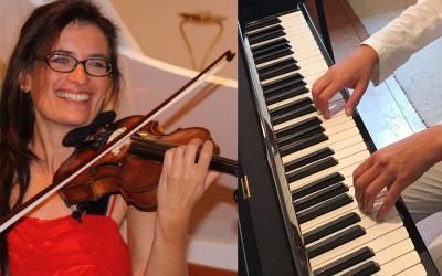 Geigen-Stunde bei Katharina Apostilidis