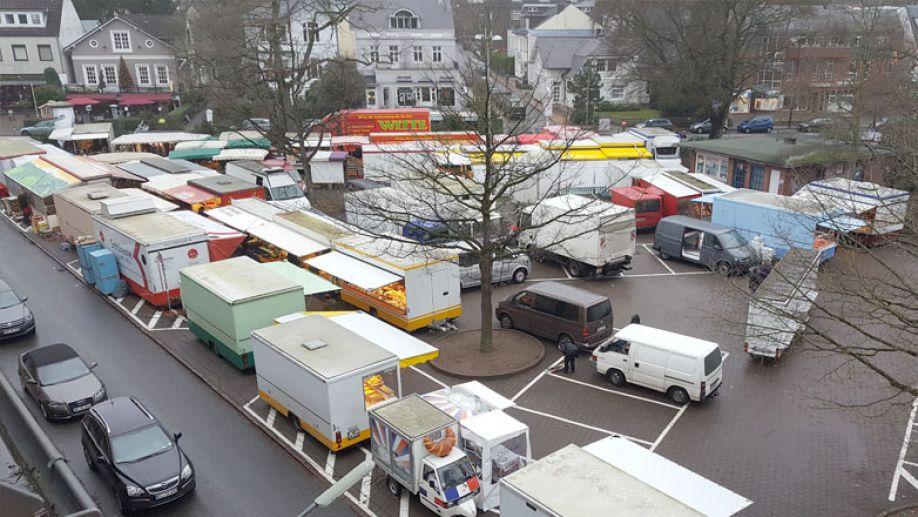 Marktplatz Blankenese